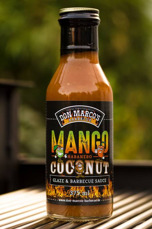 Don Marco`s Mango / Habanero / Coconut Glaze & BBQ Sauce