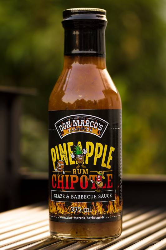 Don Marco`s Pineapple / Chipotle / Rum Glaze & BBQ Sauce