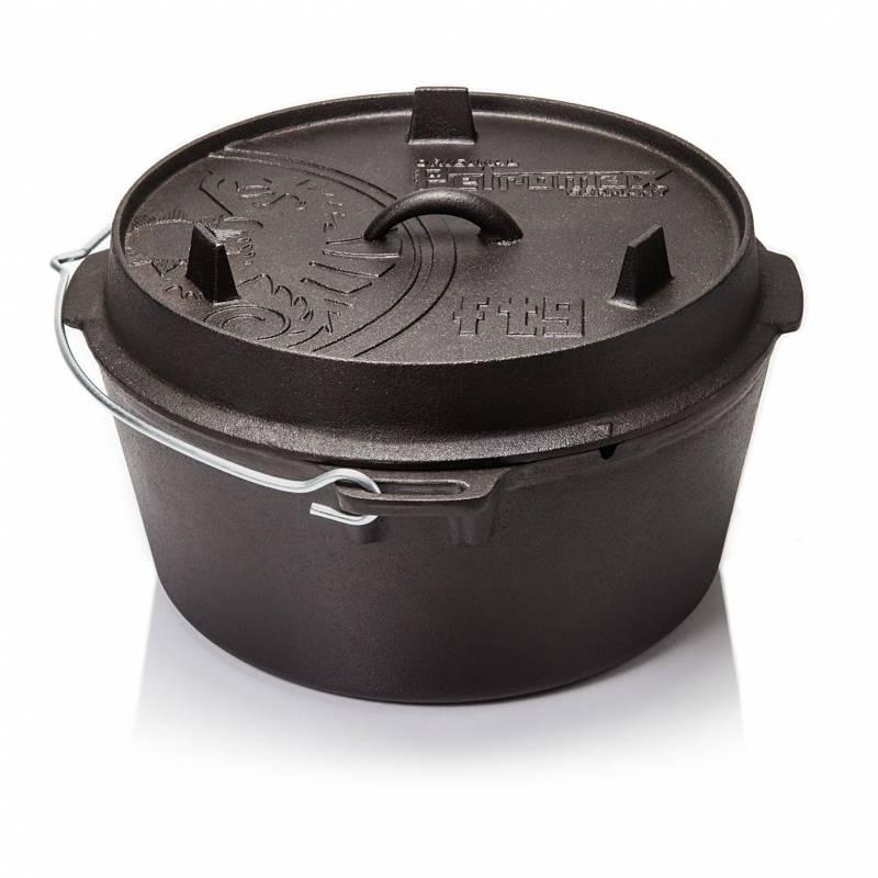 Petromax Feuertopf 8,5 Liter Dutch Oven - ohne Füße