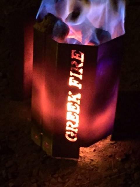 Greek Fire Premium Anzündkamin groß