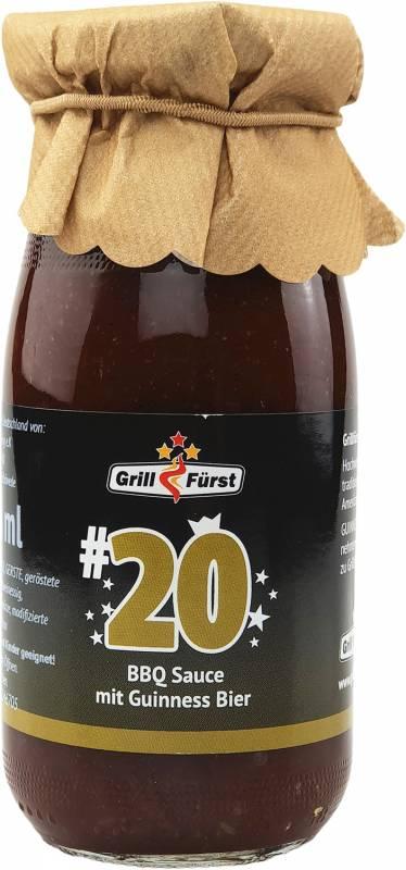 Grillfürst BBQ Sauce No. #20, die BBQ Sauce mit Guinness Bier