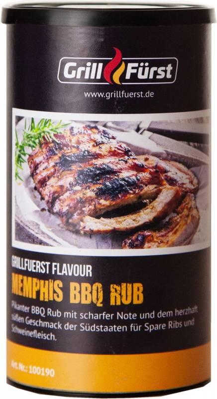 Grillfürst Memphis BBQ Rub im 240g Streuer
