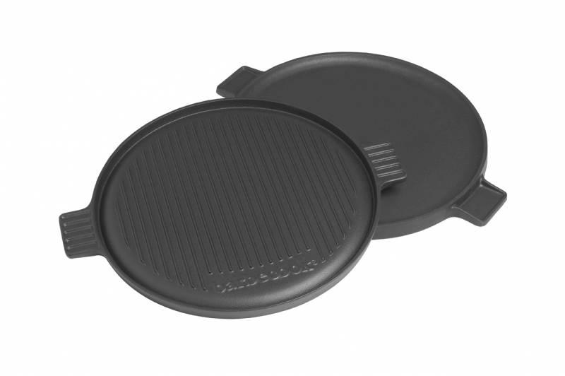 Barbecook Zubehör: Barbecook Grillplatte Gusseisen 35cm
