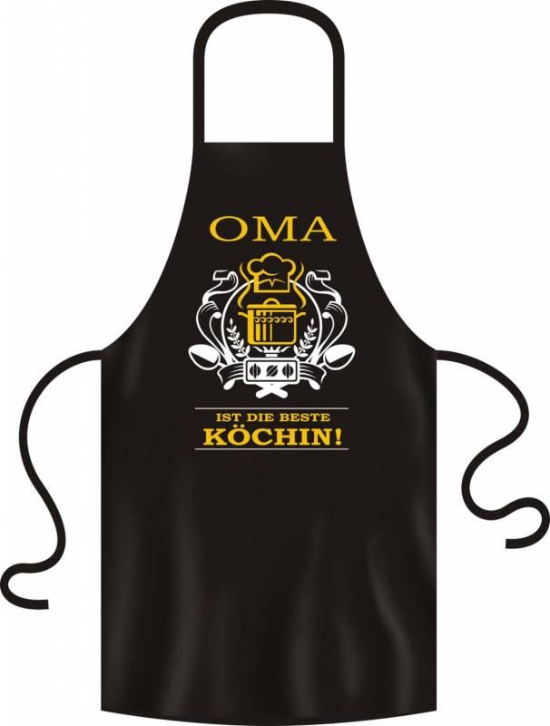 Grillschürze Oma ist die beste Köchin