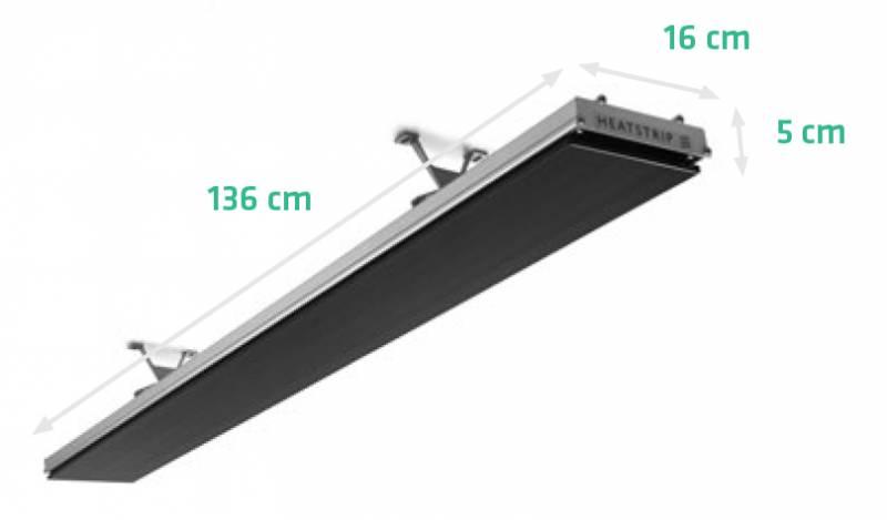 Heatstrip Design 2400 Infrarot Heizstrahler