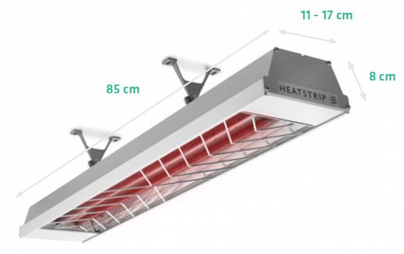 Heatstrip Max 2400 Infrarot Heizstrahler