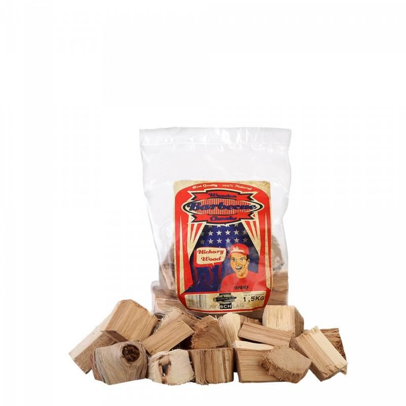 Axtschlag Räucherchunks Hickory 1,5 kg
