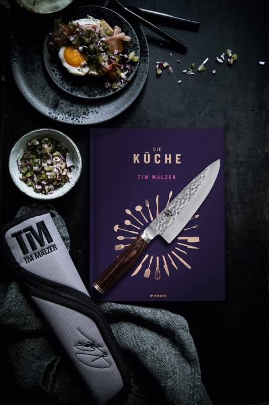 KAI TDM Set-W16: TDM-1723 + Messertasche + Kochbuch