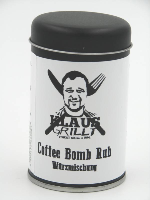 Coffee Bomb Rub 120 g Streuer by Klaus grillt