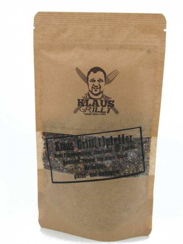 Grill(t)pfeffer 150 g Beutel by Klaus grillt