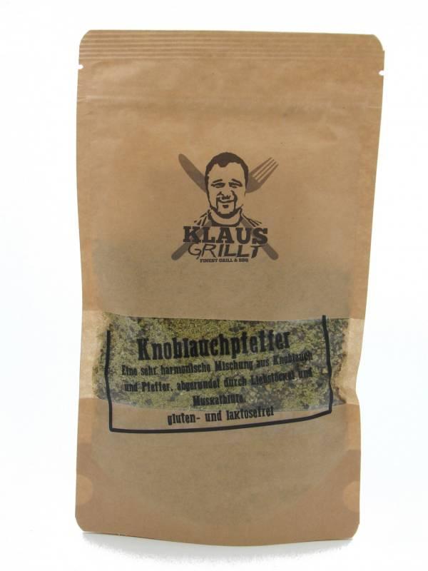 Knoblauchpfeffer 180 g Beutel by Klaus grillt