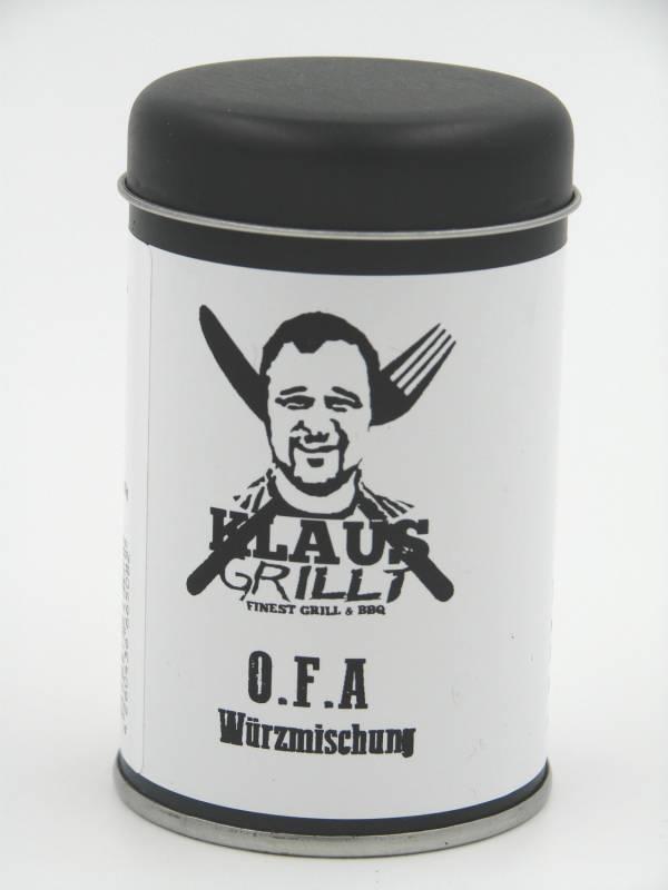 O.F.A Rub 120 g Streuer by Klaus grillt