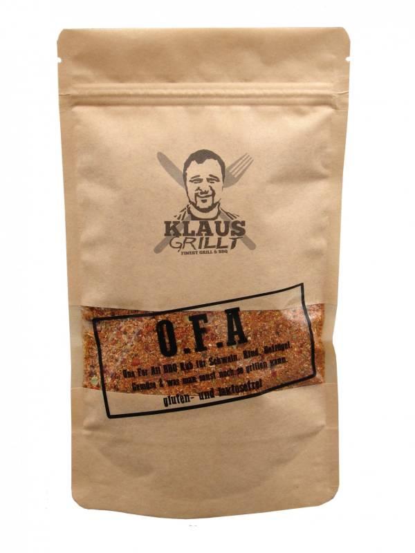 O.F.A Rub 250 g Beutel by Klaus grillt