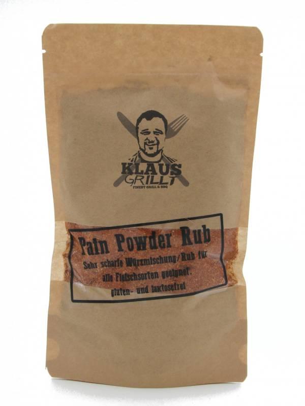 Pain Powder 250 g Beutel by Klaus grillt