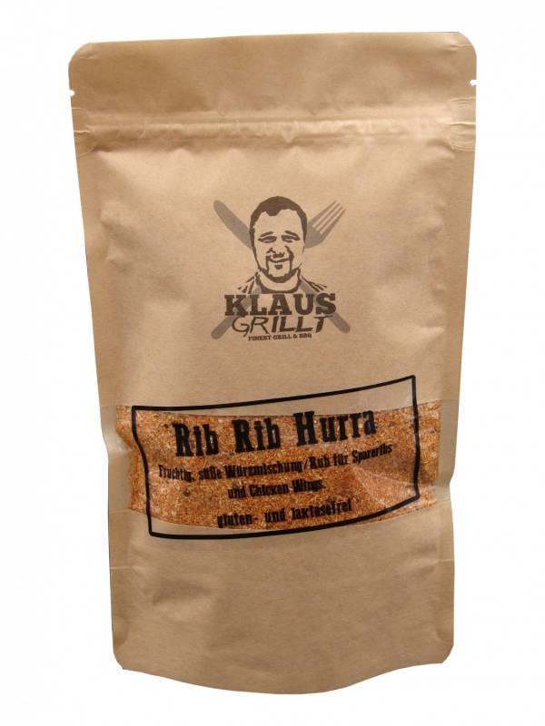 Rib Rib Hurra 250 g Beutel by Klaus grillt