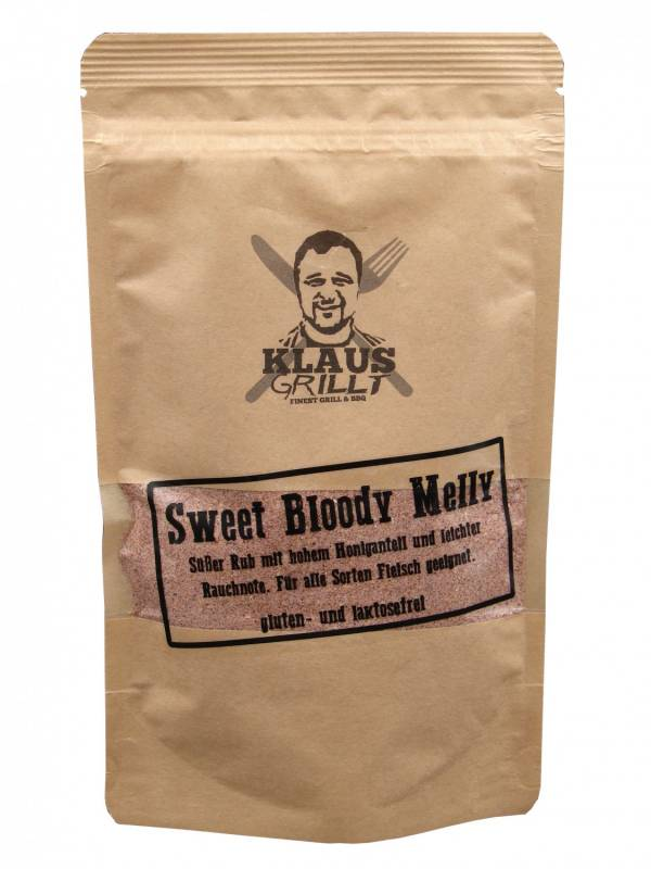 Sweet Bloody Melly Rub 250 g Beutel by Klaus grillt