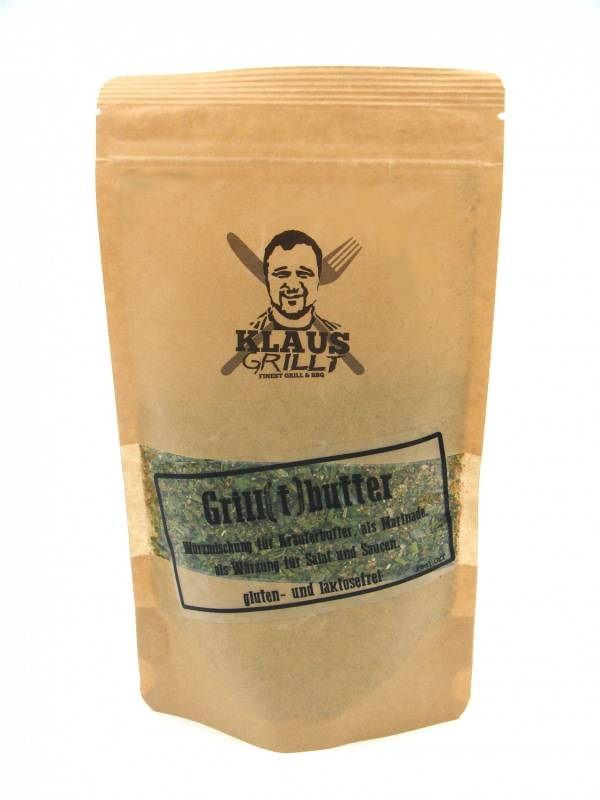 Grill(t)butter 120 g Beutel by Klaus grillt