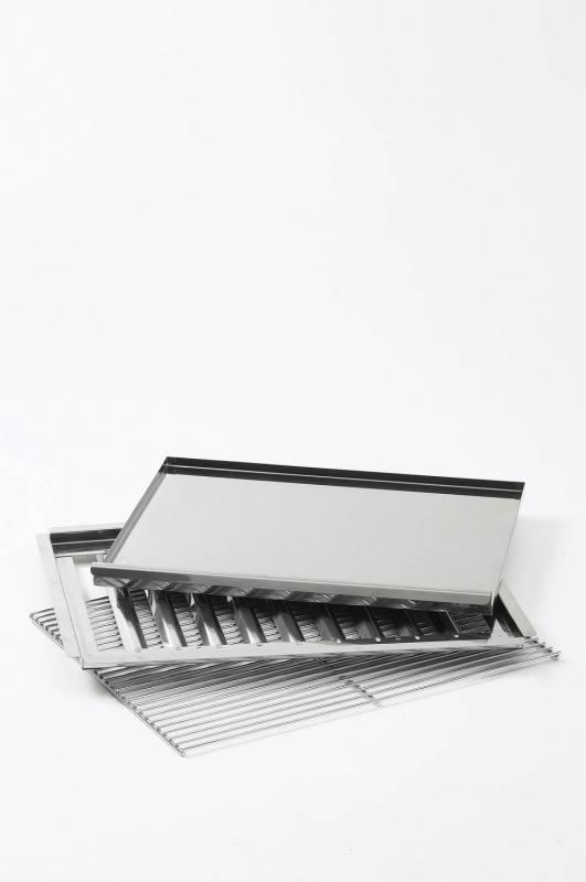 Landmann Grillset Edelstahl 00444 für Gasbräter / Gastrobräter - Abverkauf