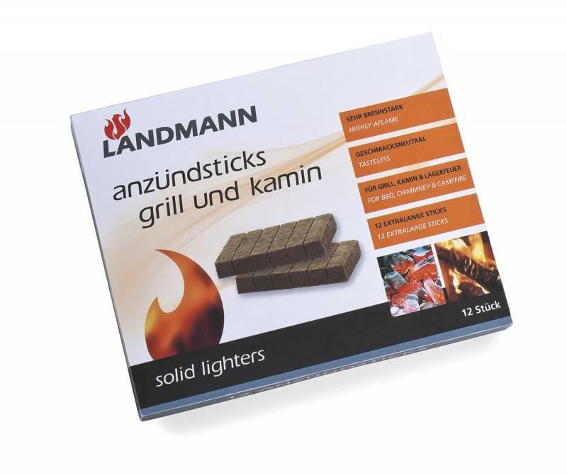 Landmann Zubehör: Feststoff-Anzünder 12 Riegel 0140