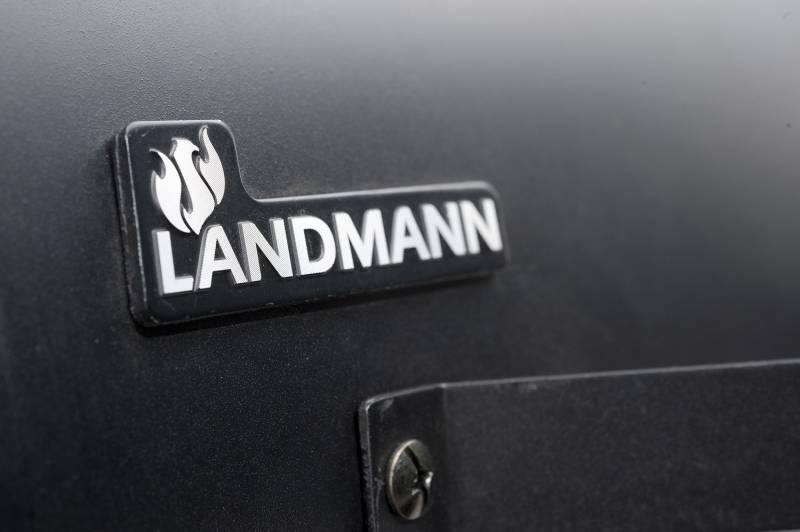 Landmann Holzkohlegrill Black Taurus 440 : Landmann holzkohlegrillwagen black taurus