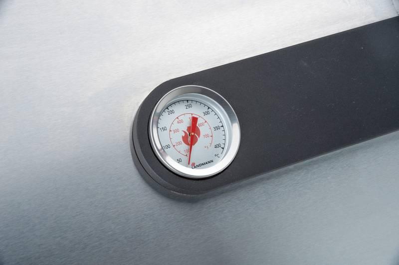 Landmann Gasgrilküche Avalon PTS 4.1 mit Seitenbrenner und PTS-System - Abverkauf