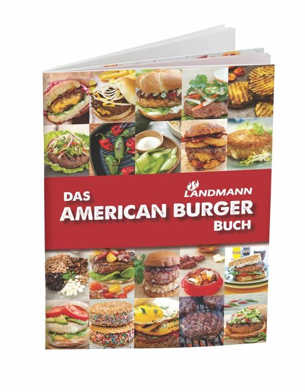 Landmann American Burger Set - Hamburgerpresse mit Rezeptbuch
