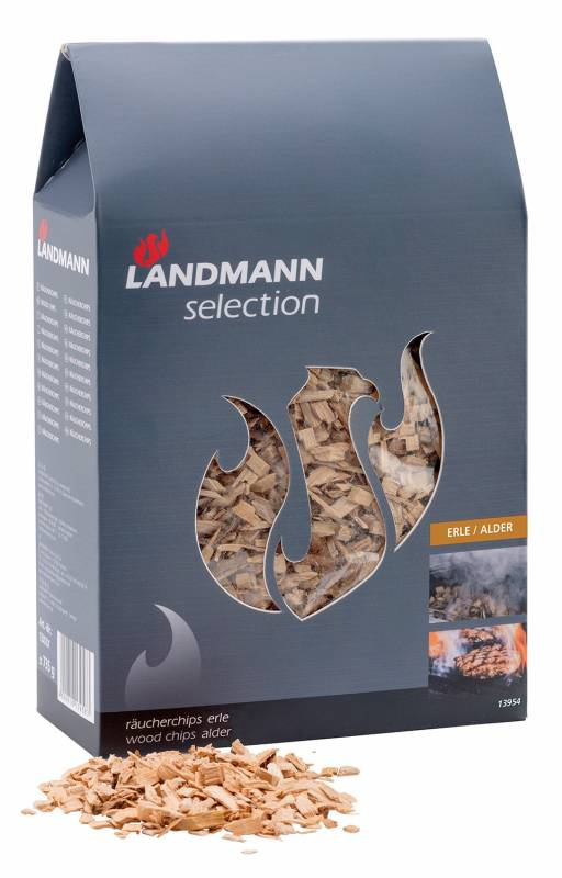 Landmann Selection Räucherchips Erle - Abverkauf