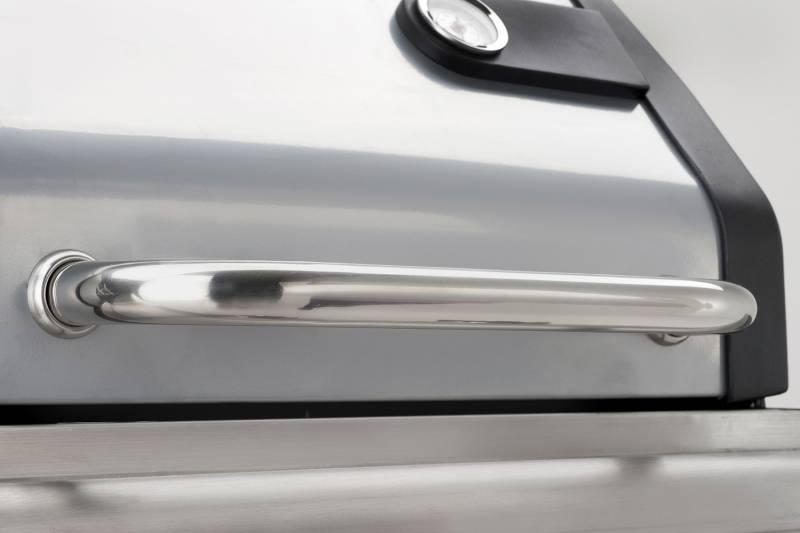 Landmann Gasgrillwagen Triton 2.0 mit PTS, Silber