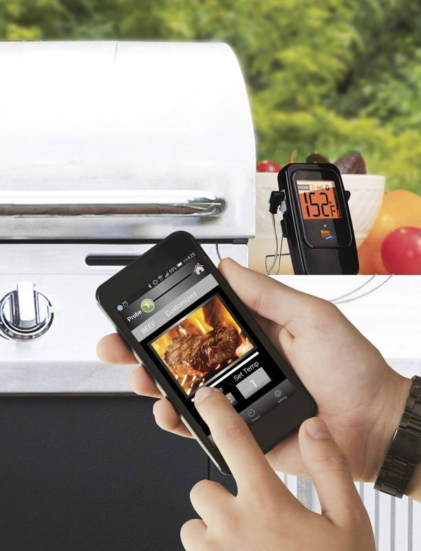 Maverick ET-735 Bluetooth Funk-Grillthermometer mit 2 Temperaturfühlern