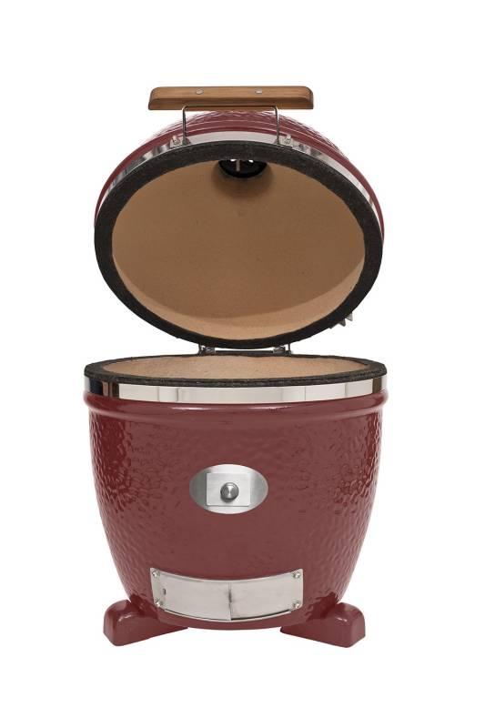 Monolith Grill Classic Red ohne Gestell und Seitentische MG18RNC - Set