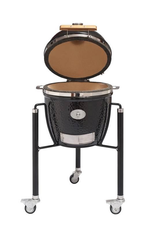 Monolith Grill Junior Black mit Gestell MG13B - Set