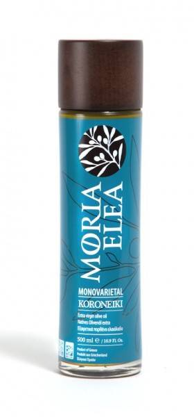 Natives Olivenöl Extra Moria Elea Monovarietal Koroneiki 500ml
