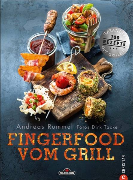 """Napoleon Kochbuch """"Fingerfood vom Grill"""""""
