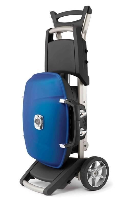 napoleon travelq tq285x tischgrill mit wagen blau. Black Bedroom Furniture Sets. Home Design Ideas