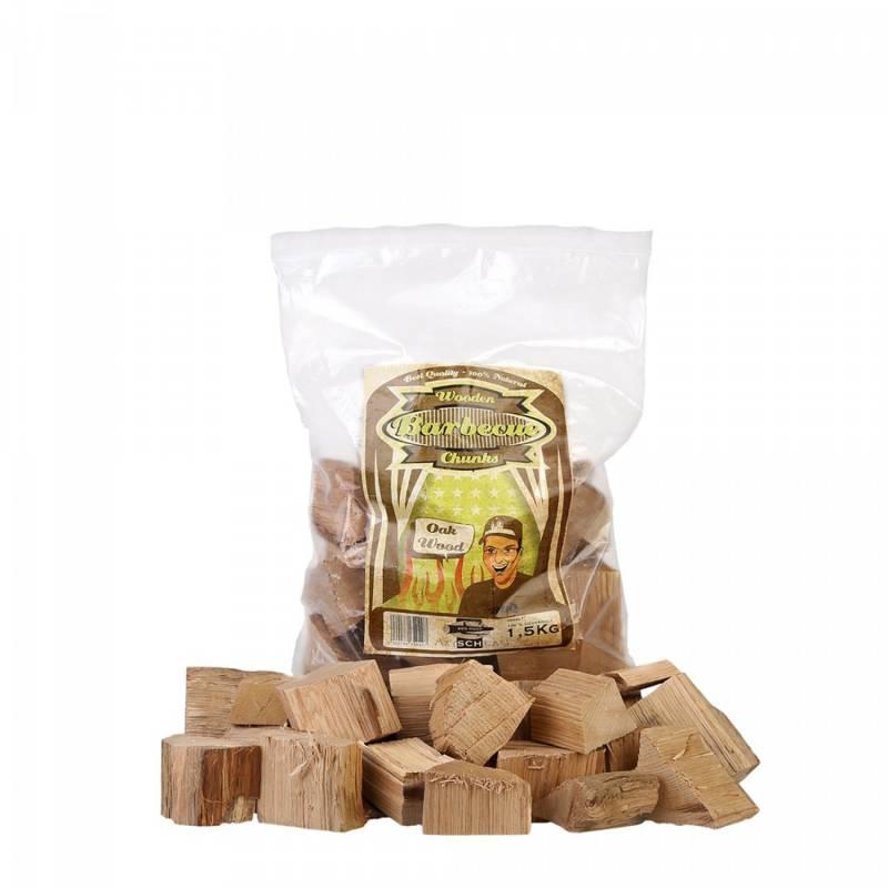 Axtschlag Räucherchunks Oak - Eiche 1,5kg