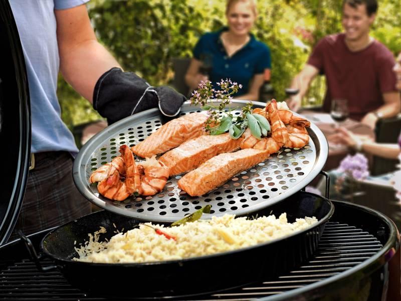 Outdoorchef Gourmet Set City Grill 2-teilig (Universalpfanne Ø 34cm und Pizzablech Ø 35cm)