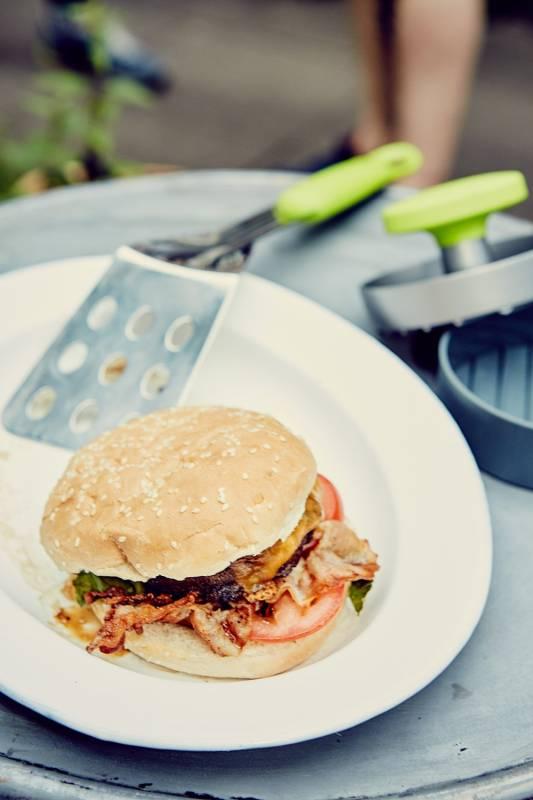 Outdoorchef Burger Presse