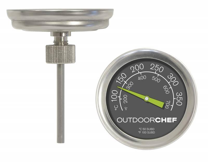Outdoorchef Thermometer für Kugelgrills mit runder Aufnahme