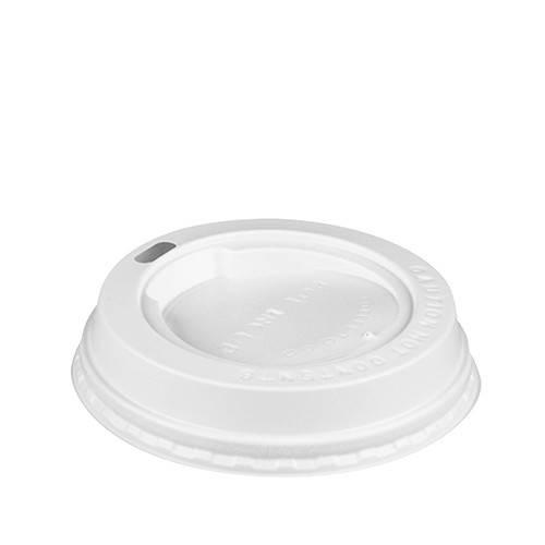 100 Deckel 8cm Durchmesser für Cafebecher To Go 0,2 l