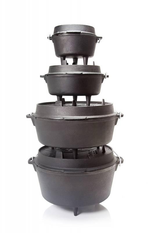 Petromax Feuertopf 1,1 Liter Dutch Oven - mit Füßen