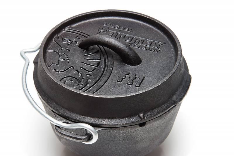Petromax Feuertopf 1,1 Liter Dutch Oven - ohne Füße