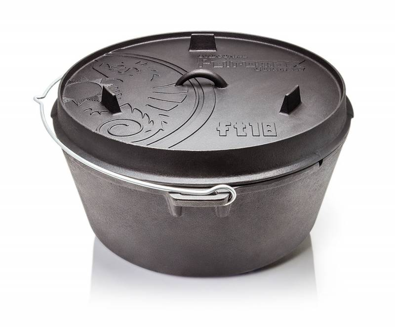 Petromax Feuertopf ft18-t 17,3 Liter Dutch Oven ohne Füße