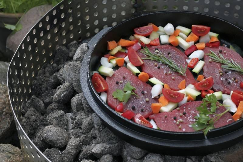 Petromax Feuertopf 8,5 Liter Dutch Oven - mit Füßen