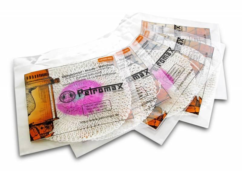 Petromax Zweiloch‐Glühstrumpf HK500 im 5er‐Set