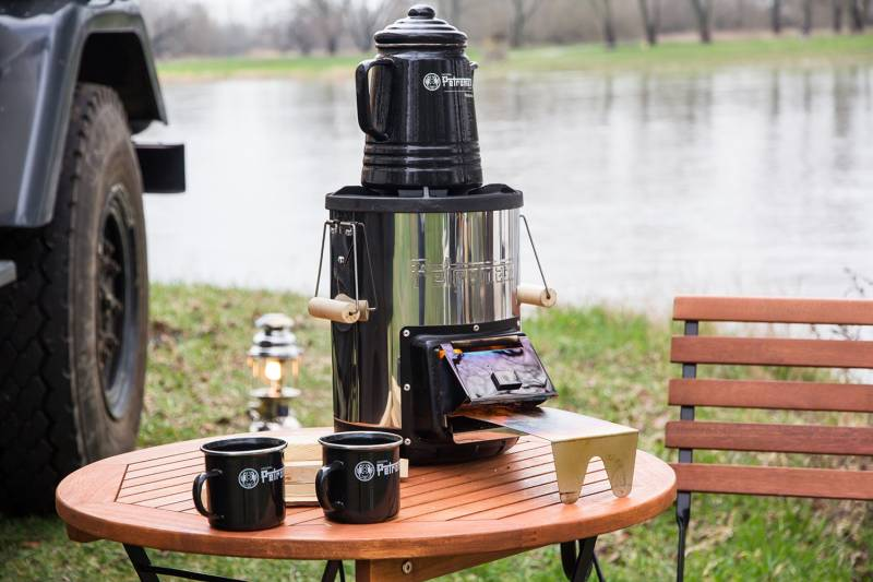 Petromax Petromax Tee- und Kaffee-Perkolator Schwarz (9 Tassen)