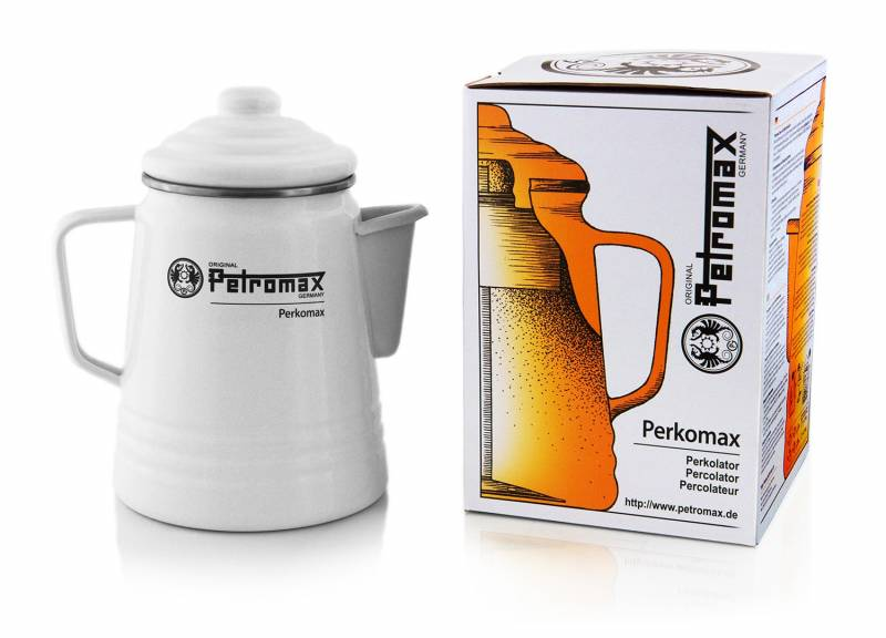 Petromax Petromax Tee- und Kaffee-Perkolator Weiß (9 Tassen)