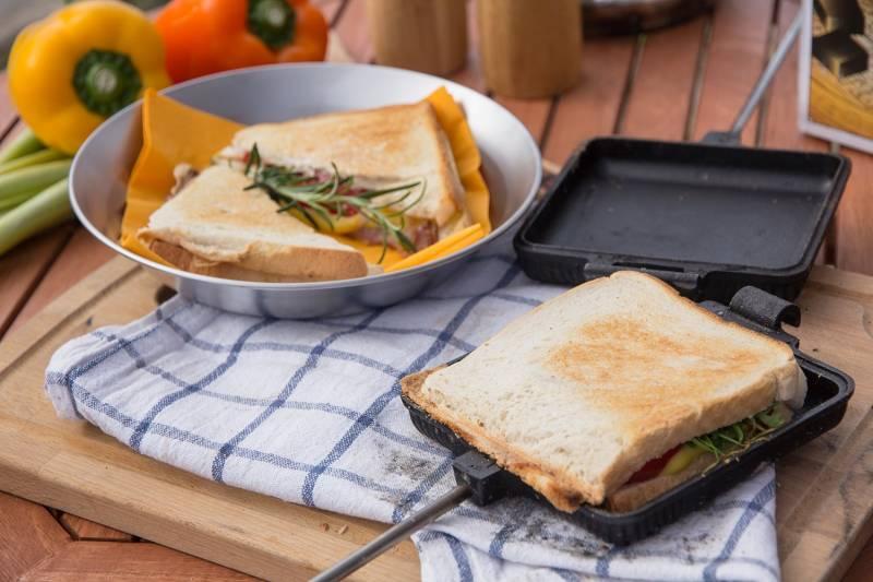 Petromax Sandwicheisen
