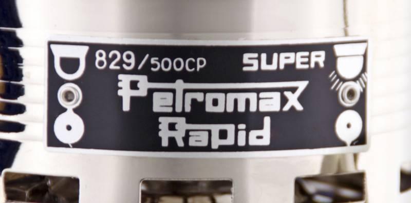 Petromax Petroleumleuchte HK500/829 Chrom