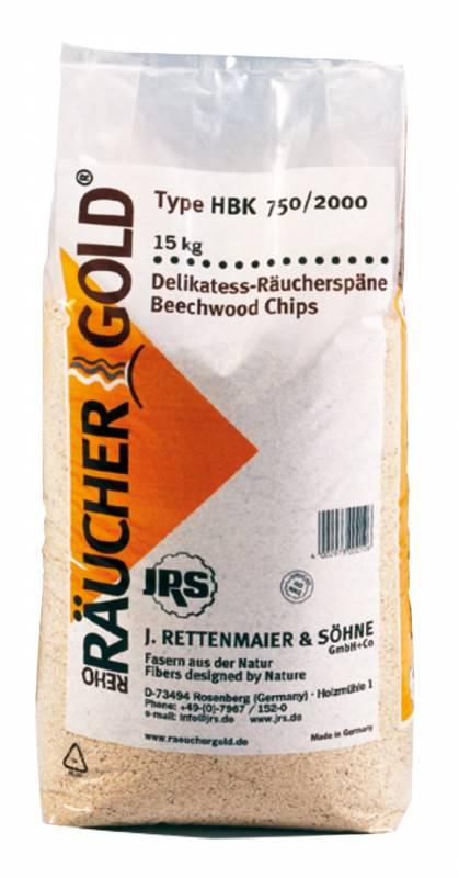Räuchergold Buchenholz Räucherspäne RG HBK 750/2000 15kg