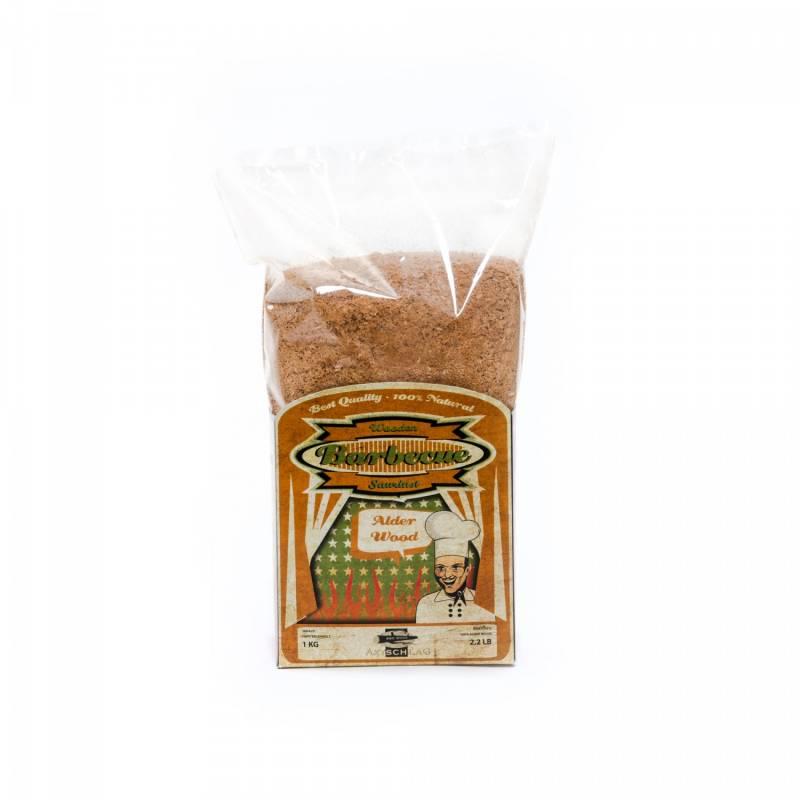 Axtschlag Räuchermehl (Saw Dust) 1kg Alder - Erle
